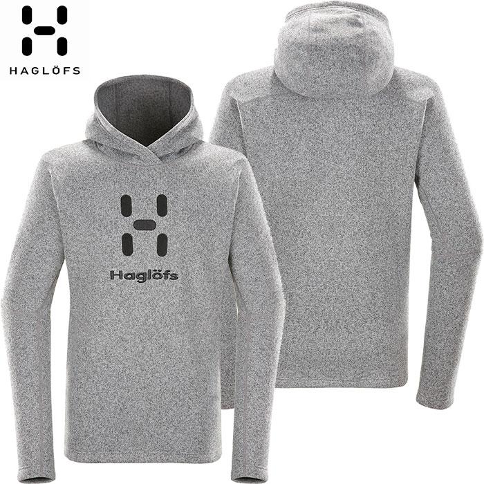 クーポン&ポイント最大10倍 HAGLOFS ホグロフス 18-19 Swook Logo Hood Men 2019 メンズ フリース ジャケット アウトドア (CONCRETE):603729