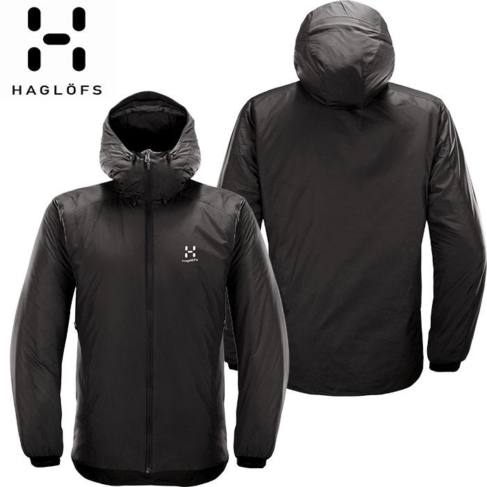[11/16まで 10%OFFクーポンあり] [送料無料] HAGLOFS ホグロフス 18-19 Barrier Hood Men 2019 メンズ インサレーション ジャケット アウトドア (TRUEBLACK):603745