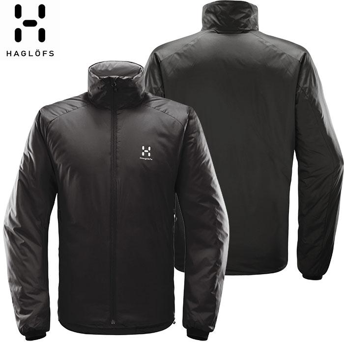 [11/16まで 10%OFFクーポンあり] [送料無料] HAGLOFS ホグロフス 18-19 Barrier Jacket Men 2019 メンズ インサレーション ジャケット アウトドア (TRUEBLACK):603747