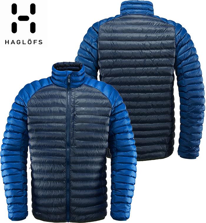 [11/16まで 10%OFFクーポンあり] [送料無料] HAGLOFS ホグロフス 18-19 Essens Mimic Jacket Men 2019 メンズ インサレーション ジャケット (TARNBLUE-BLUEINK):604102