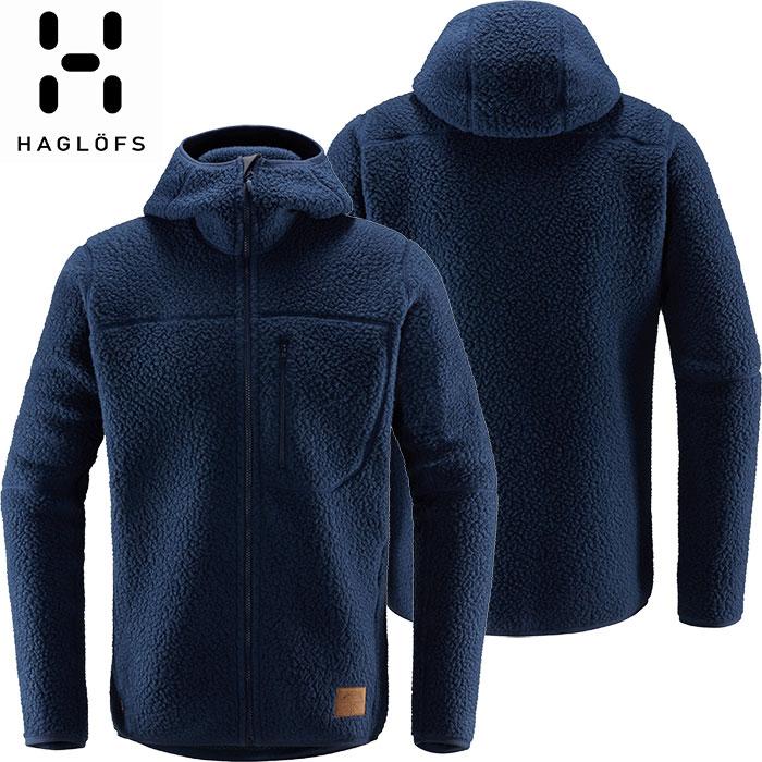 HAGLOFS ホグロフス 18-19 Pile Hood Men 2019 メンズ フリース ジャケット アウトドア (TARNBLUE):604137 [特価ホグロフス]