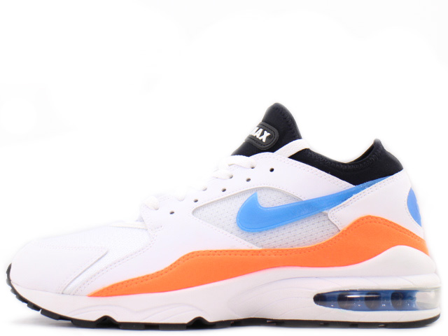 NIKE AIR MAX 93 306551-104ナイキ エアマックス 93WHITE/BLUE NEBULA-TOTAL ORANGE-BLACK