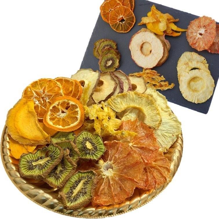 SALENEW大人気! 工房ふじや ドライフルーツ 無添加 砂糖不使用 プレート 100g 手作り パインの皮きわ マンゴー 激安通販販売 パイン グレープフルーツ りんご キウイ みかん