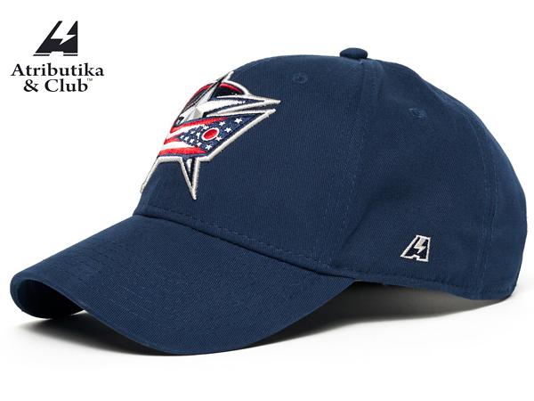 Atributika&Club/アトリブチカ NHLCAP ※コロンバス ブルージャケッツ青※【NHLグッツ】 #28178