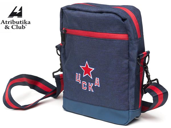 Atributika&Club/アトリブチカ KHL MINI SHOULDER BAG ※チェスカ モスクワ紺※ 【KHLグッツ】 #10464