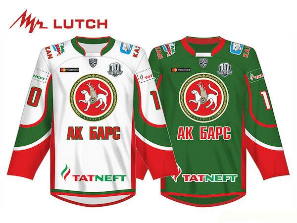 LUTCH/ルッチ KHL Replicaジャージ ※AkBars Kazan※ シニア 【KHLグッツ】 2017/18
