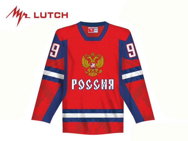 LUTCH/ルッチ TEAM RUSSIA Replicaジャージ/背番号・背ネーム入り ※RED※ シニア【RUSSIAグッツ】 2012-13