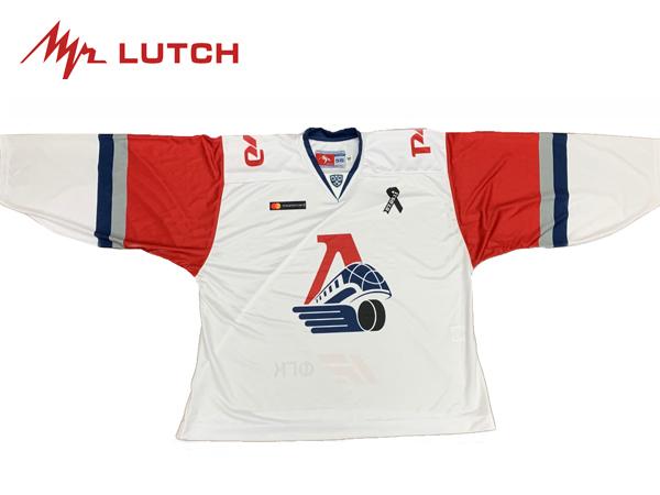 LUTCH/ルッチ KHL Replicaジャージ ※LOKOMOTIV YAROSLAVL AWAY※ GKシニア 【KHLグッツ】