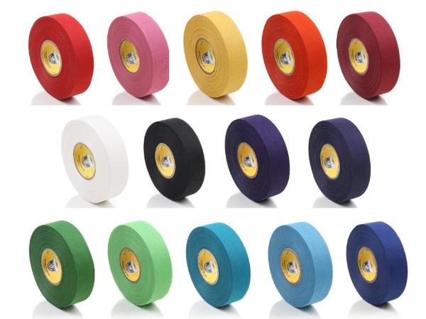 ■グリップ ブレードテープ■ 即納 驚きの価格が実現 カラフル 人気のホッケーテープ HOWIES ハウィーズ CLOTH アイスホッケー小物 HOCKEY 24mmx22.8M 《ポスト投函可》 TAPE クロスホッケーテープ