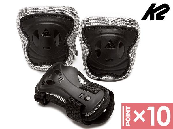 ■ジュニア 3点パットセット■ 日本正規品 ※ポイント10倍※ 卓越 K2 Set Junior Pad ケーツー インラインパッドセット 品質保証