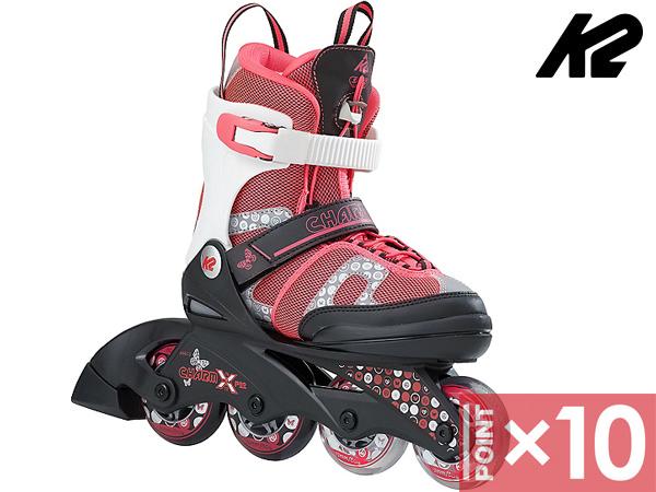■アジャスタブルユース■ 日本正規品 ※ポイント10倍※ K2 ケーツー PRO 男女兼用 至高 インラインスケート靴 X CHARM