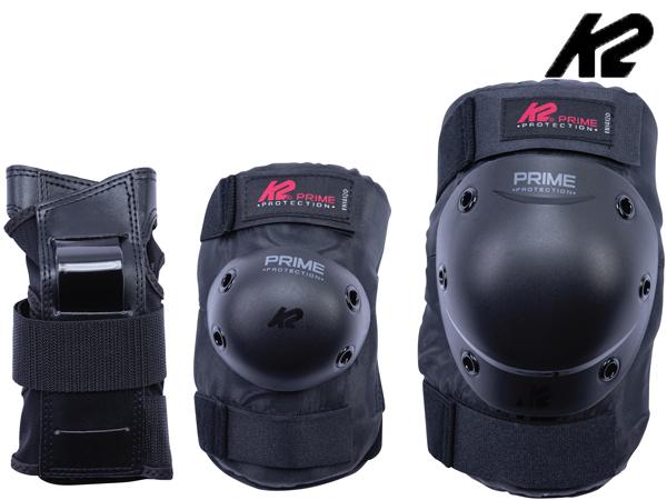 ■3点パットセット■ 発売モデル 日本正規品 K2 ケーツー PRIME SET 超定番 PAD MENS インラインパッドセット