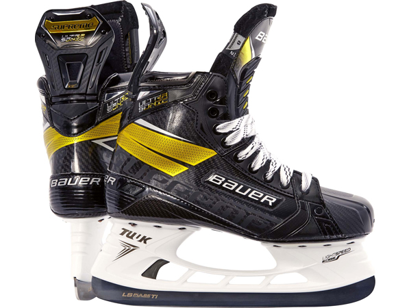 BAUER/バウアー SUPREME ULTRASONIC シニア【アイスホッケースケート靴】2020-2021