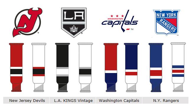 <title>供え 国内では当店のみ取り扱い 丈夫なニットソックス LUTCH ルッチ Custom Knit Socks NHLデザイン ジュニア アイスホッケーソックス</title>