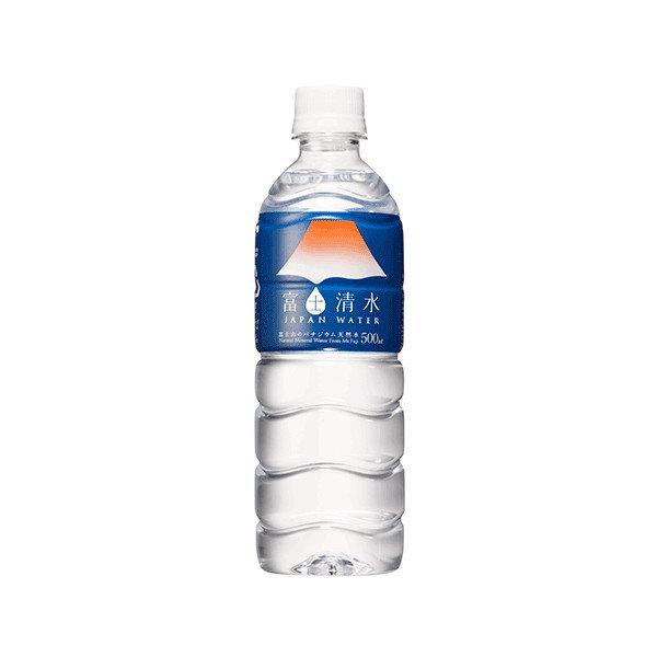 富士清水 JAPANWATER 500mlx 24 x 2 案例世界遺產自然水 02P01Oct16