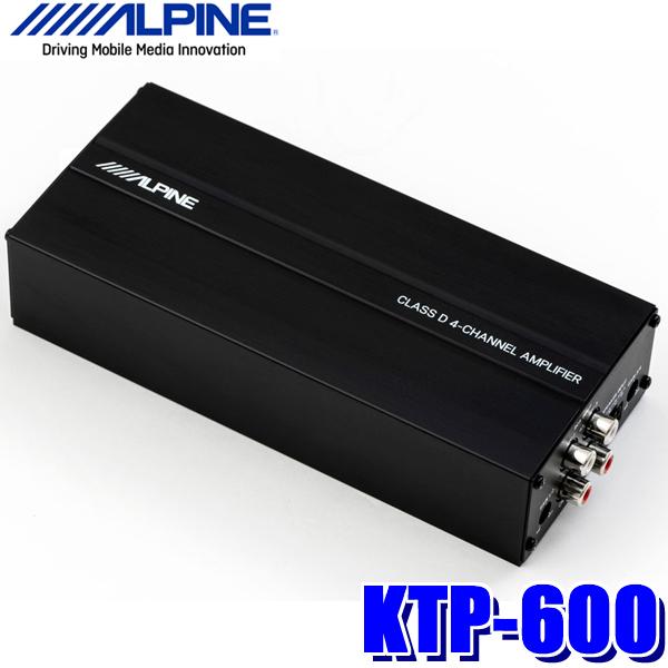 KTP-600 アルパイン 90W×4ch車載用超小型パワーアンプ
