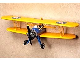 【Biplane Shelf】 飛行機 コーナー シェルフ