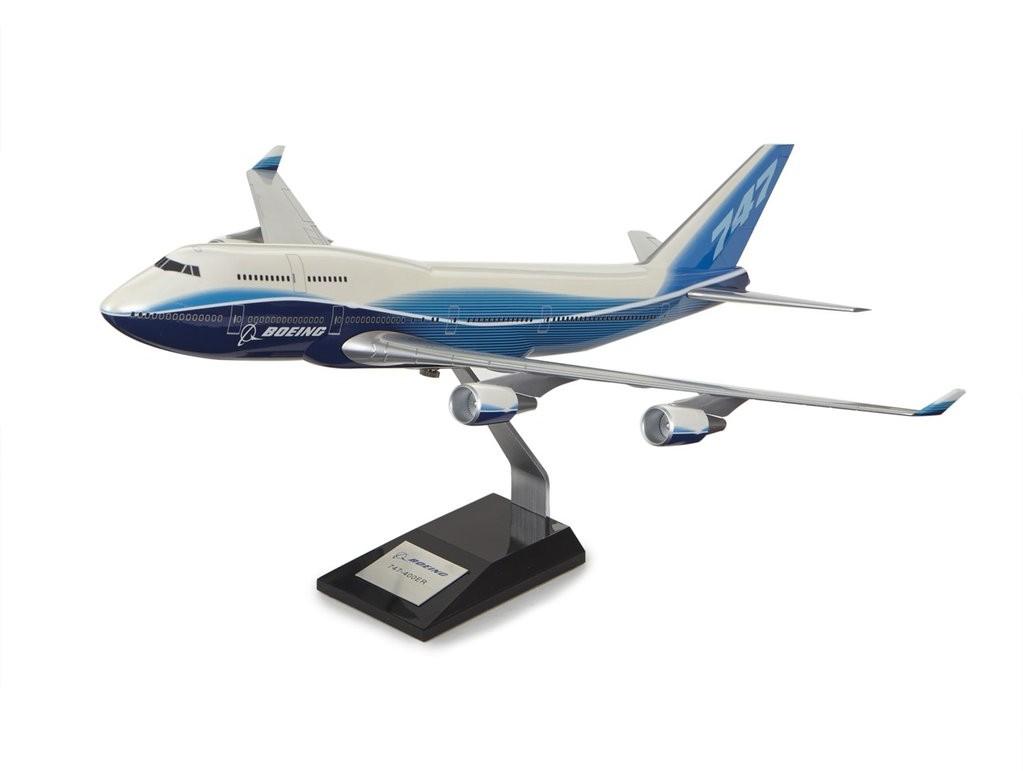 Boeing 747-400 Plastic 1:144 Model ボーイング ダイキャスト