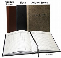 PROFESSIONAL PILOT LEATHER LOGBOOKS
