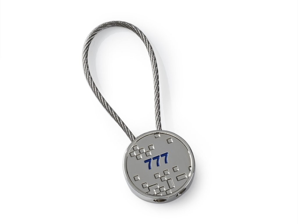 Boeing 777 key ring