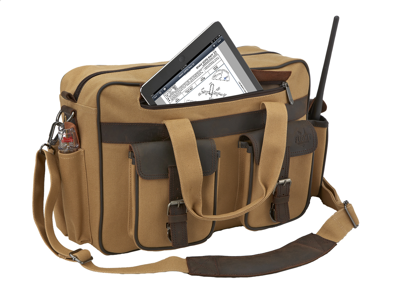 FLIGHT OUTFITTERS BUSH PILOT FOLIO BAG(フライト パイロット 無線機 ヘッドセット タブレット)