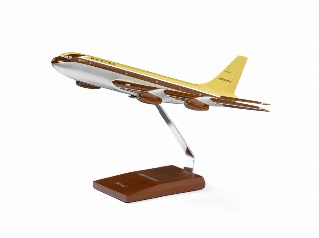 ボーイング Dash 80 Wood Model ダイキャスト