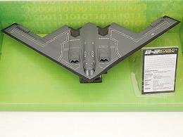 B-2 Spirit Stealth Bomber ステルスボンバー ダイキャスト 1/144スケール