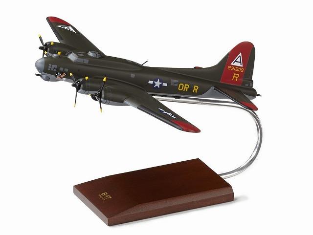 ボーイング B-17G Olive Green Wood Model ダイキャスト