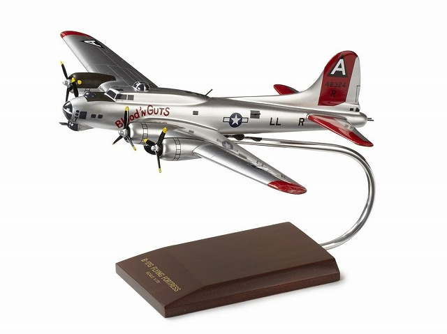 ボーイング B-17G Flying Fortress Wood Model ダイキャスト