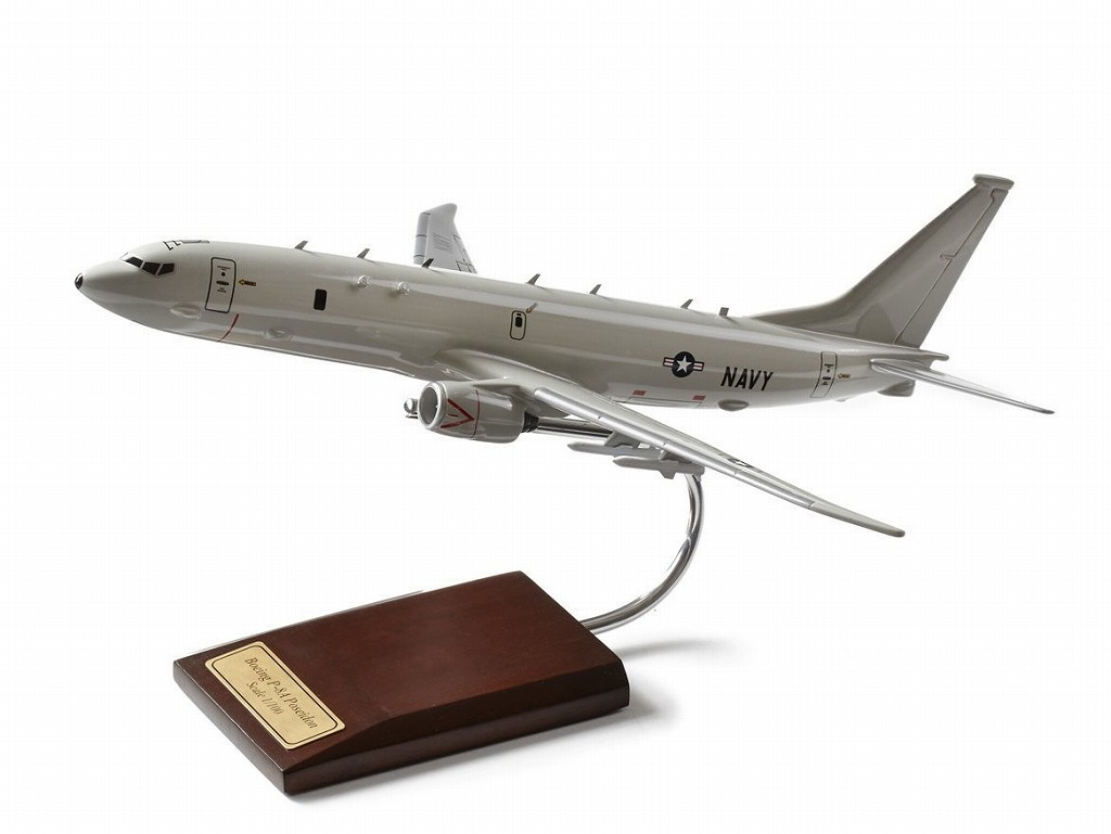 ボーイング U.S. Navy P-8A Poseidon 1:100 Resin Model ダイキャスト