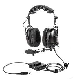 RAYTALK PH-100HC ANR HELICOPER HEADSET (METAL BOOM)