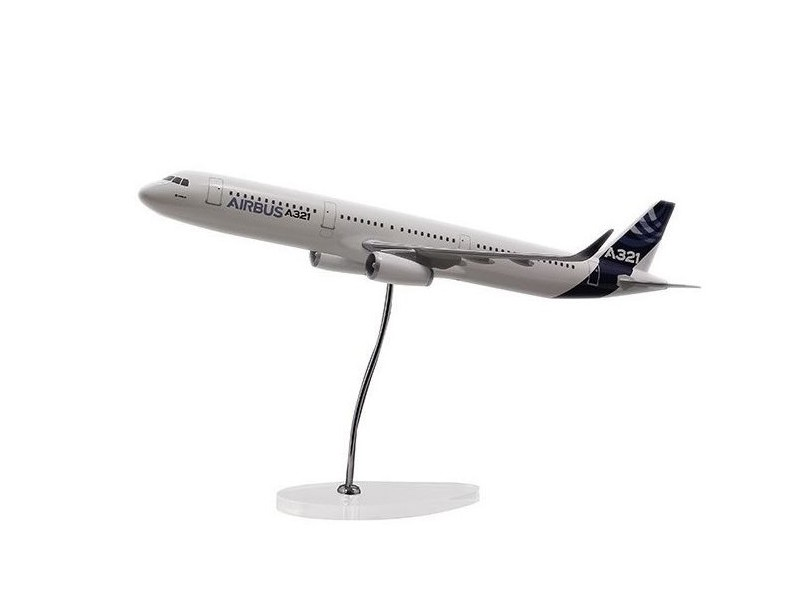 Airbus Executive A321 IAE 1/100 scale model エアバス 飛行機 スケール モデル