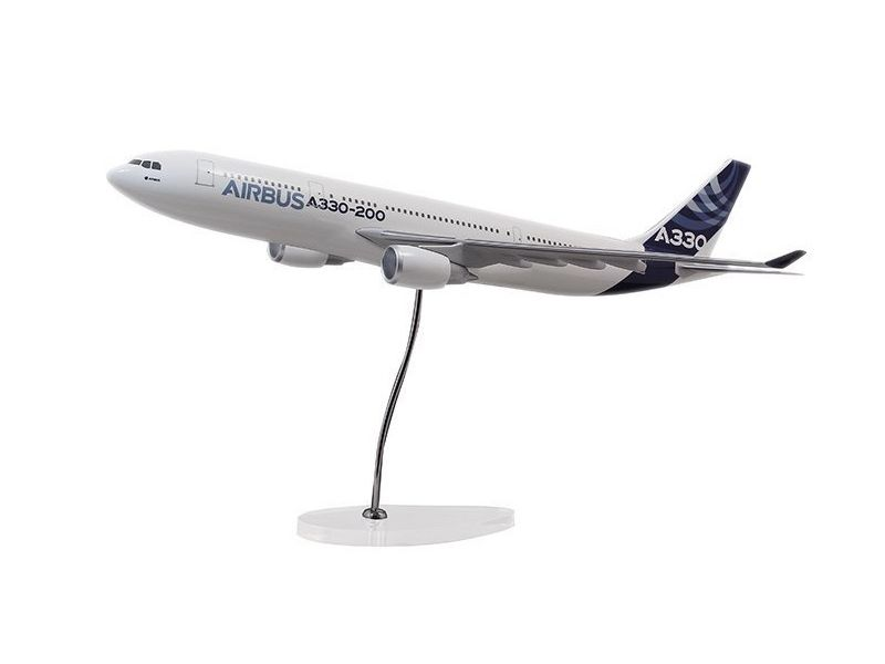 Airbus Executive A330-200 GE engine 1/100 scale model エアバス 飛行機 スケール モデル