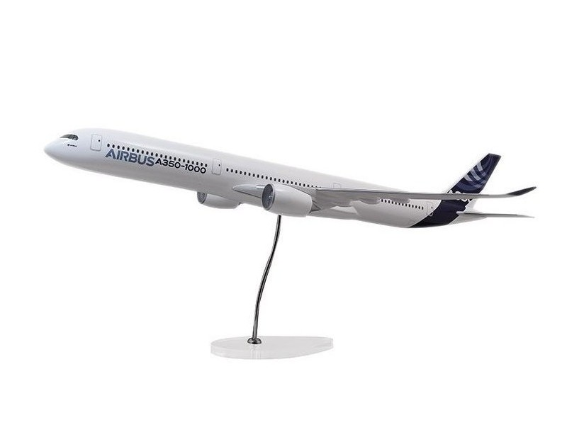 Airbus Executive A350-1000 1/100 scale model エアバス 飛行機 スケール モデル