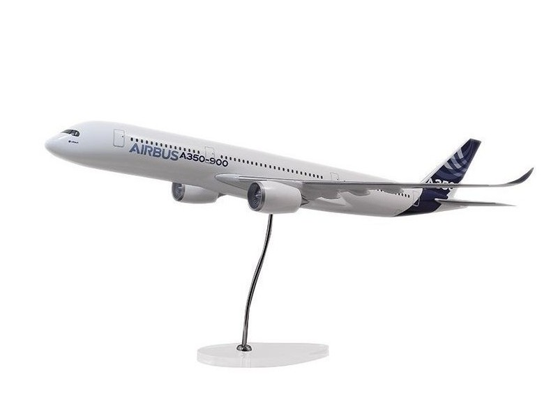 Airbus Executive A350-900 1/100 scale model エアバス 飛行機 スケール モデル