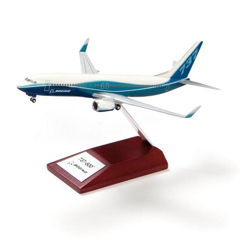 【BOEING】 ボーイング 737-800 プラスチック モデル (1/200)