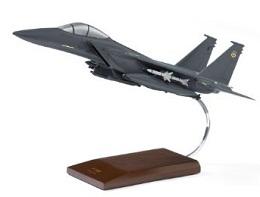 ボーイング F-15E Strike Eagle Wood Model ダイキャスト