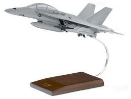ボーイング F/A-18F Wood Model ダイキャスト