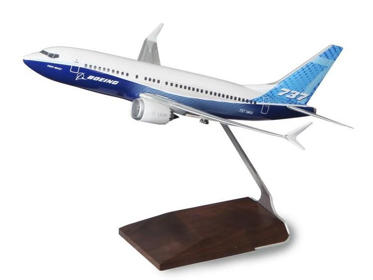 ボーイング 737 MAX 7 Resin 1:100 Model ダイキャスト