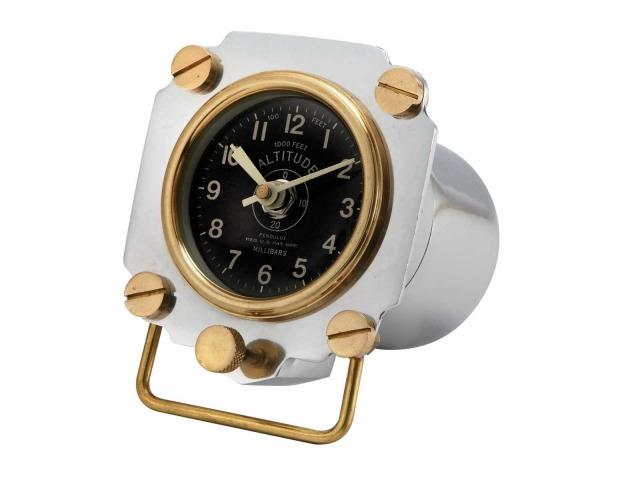 b754304bcf 楽天市場】【Altimeter Display Clock】 高度計 ディスプレイクロック ...