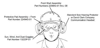 (David Clark) DAVID CLARK goggles (13223P-01)