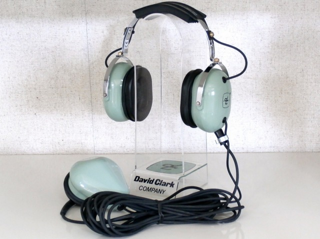 DAVID CLARK H3312 ground support of headset (12515G-12)