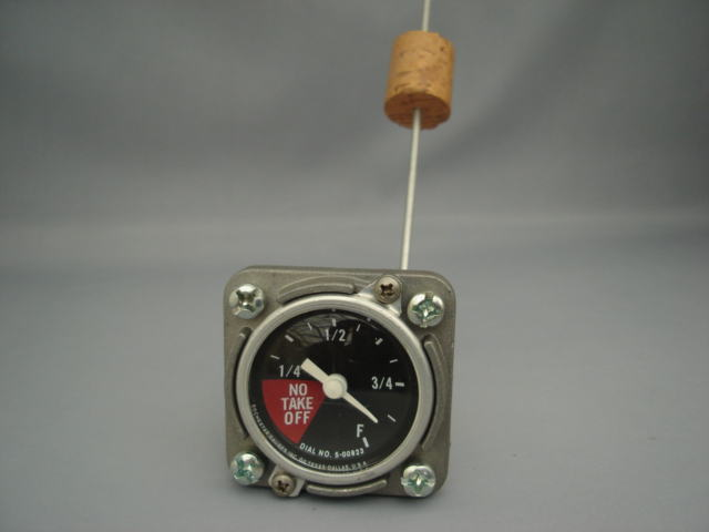 メカニカル簡易燃料計
