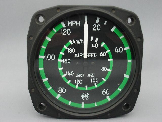 速度計 (0~120mph/0~180km) 3-1/8