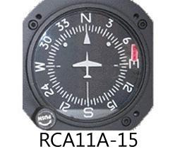 RC ALLEN DIRECTIONAL GYRO (RCA11) バキューム式 Standard Display 14V(12V可) ライト付き