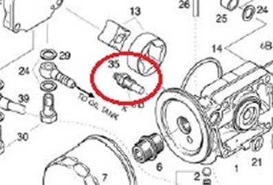 ROTAX オイル温度計センサー