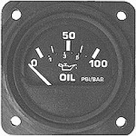MICRO-1000 OIL PRESSURE ELECTRIC (オイルプレッシャーゲージ)2-1/4