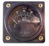 WESTACH OIL PRESSURE GAUGE 2-1/4