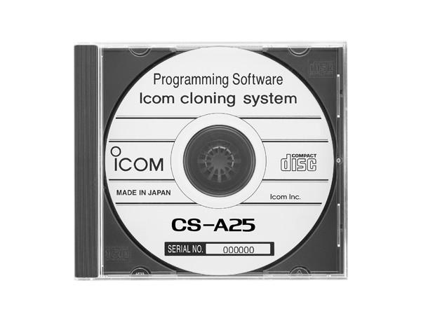(アイコム) ICOM CS-A25 クローニング ソフトウェア