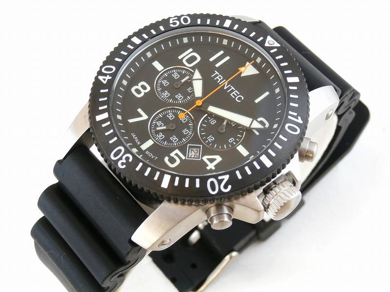 (トリンテック) Trintec ZULU-01 Chronograph クロノグラフ 腕時計 #ZULU-01-CH-S